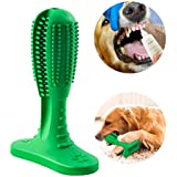 BESTTRENDY Dog Toothbrush Stick Puppy Dental Hygiene Brushes Dogs Pets Oral Care Teeth Cleaning Massager Toys Nontoxic Natural Rubber for Small to Medium Dogs