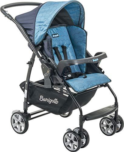 Carrinho de Bebê Rio K, Burigotto, Azul, Até 15 kg