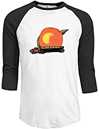 T-Shirts 3/4 Sleeve Customized Eat A Peach Studio Album The Allman Brothers Band