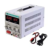 HaoFst Variable Adjustable Lab DC Bench Power Supply 0-30V 0-10A -US Power Cord