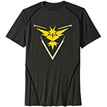 Men's Team-instinct-cutout Sport Quick Dry Short Sleeves T-Shirt Black US Size L