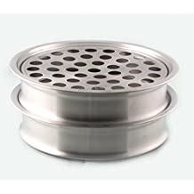 """Stainless Steel 2 Communion Tray set -12.2""""- Holds 40 - Matte Finish - Brand New"""