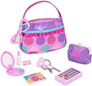 Play Circle by Battat – Princess Purse Style Set – Pretend Play Multicolor Handbag and Fashion Accessories – T