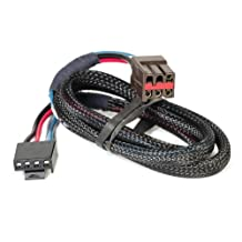 Husky 31860 Flat Connector Custom Wiring Harness for Brake Controller