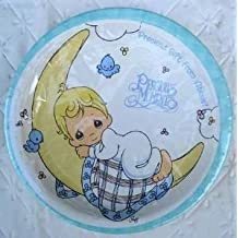 Precious Moments Party Favor Plates Lunch Birthday Decoration boy blue Baptism
