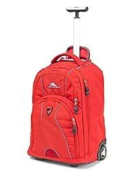 High Sierra Freewheel Wheeled Book Bag Backpack