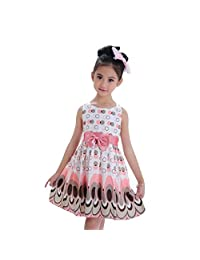 Girls Princess Dress, Malltop Bow Belt Sleeveless Bubble Peacock Party Dress