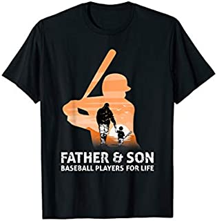 Cool gift Baseball Father Son , Baseball Father Son  Women Long Sleeve Funny Shirt / Navy / S - 5XL