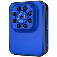 Ocamo Super Hi-Vision WIFI HD 1080P Micro Camera USB 2.0 Port Night Vision Mini Camcorder Action Camera DV DC Video Recorder blue