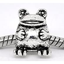 Divine Beads Froggy the Frog Charm Bead fits Pandora, Chamilia. All orders receive a free gift to thank you for your business