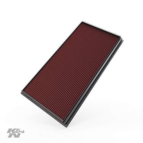 K&N 33-2128 Filtro de Aire Coche, Lavable y Reutilizable