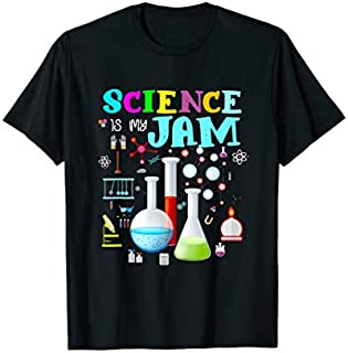Science Is My Jam Tshirt Cute Science Teacher Appreciation T-shirt | Size S - 5XL