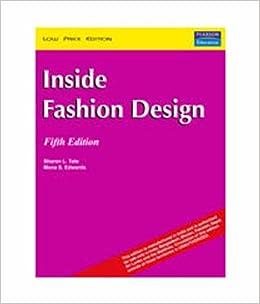 Inside Fashion Design 5th Edition Sharon L Tate Amazon Com Books
