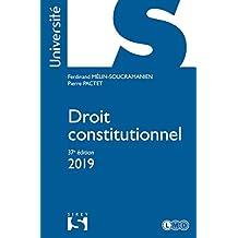 Droit Constitutionnel 2019 (université) 37e Éd.