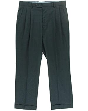 Men's Travelwear Dress Pants, Navy Blue, 32 X 29
