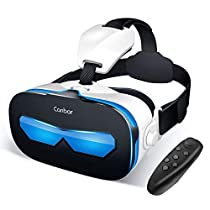 Canbor VR ゴーグル スマホ VRヘッドセット iPhone android VRグラ...
