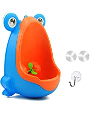 Holoras Kids Potty Toilet Training Urinal with Whirling Target for Boy Pee Trainer, Green
