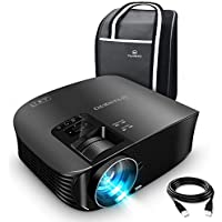 VANKYO Leisure 510 Full HD Projector with 3600 Lux, Video Projector with 200' Projection Size, Support 1080P HDMI VGA AV USB with Free HDMI Cable and Carrying Bag