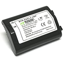 Wasabi Power Battery for Nikon EN-EL4, EN-EL4a and Nikon D2, D2H, D2Hs, D2X, D2Xs, D3, D3S, D3X, F6