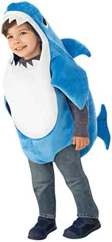 Rubie's Kid's Daddy Shark Costume with Sound Chip