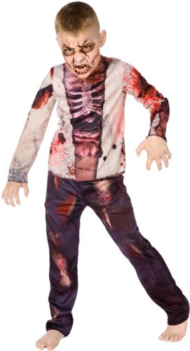Zombie+Costumes Products : Big Boys' Boy Zombie Costume Large (12-14)