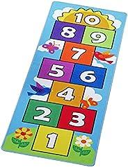 Jumping House Carpet, Non Slip Baby Crawling Mat Tummy Time Playmat Soft Nursery Rug Kids Play Mat Carpet Lear