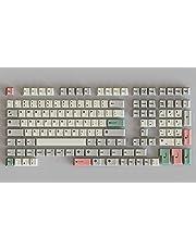 HK Gaming Kleursublimatietoetsen   Cherry Profiel   Dikke PBT Keysets voor mechanisch toetsenbord (139 toetsen, 9009)