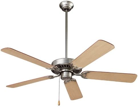 NuTone CFS52BS Energy Star Qualified Dual Blades Ceiling Fan, 52-Inch, Brushed Steel