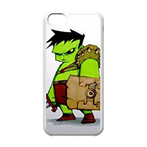 iPhone 5c White Cell Phone Case Hulk STY791454 Phone Case For Women