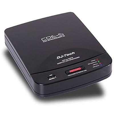 DJTECH CDENCODER5 Studio Flash Recorder from DJ Tech Pro USA, LLC