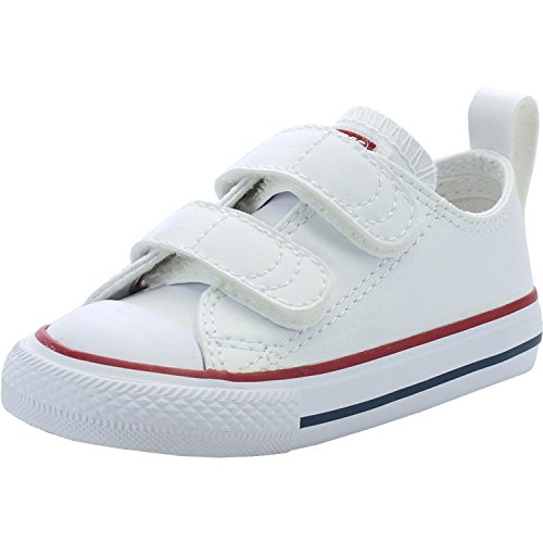 Converse Chuck Taylor All Star 2V Infant Optical White Leather 3 M US  Toddler ~ baby shoes ~ Bajby.com - is the leading kids clothes 54c91f0ce