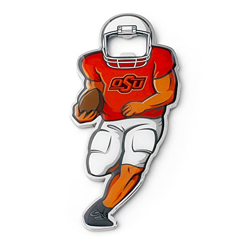 (NCAA Oklahoma State Cowboys Player Bottle Opener Magnet )