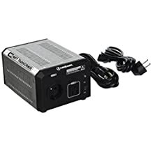 KRIËGER 850 Watt Voltage Transformer 120V to from 230V AC outlet American European Step up down Converter 50 60 Hz outlets includes IEC German Schuko Nema 5-15P cord connection MET certified approved under UL CSA ULT850
