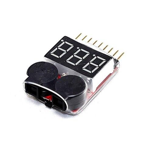 best Kingwin 1 – 8S Lipo Digital Indicador de voltaje de la batería  probador de bajo