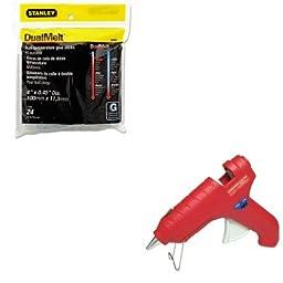 KITBOSGS20DTFPRDT270 - Value Kit - Fpc Corporation Surebonder Dual Melt High/Low Temperature Glue Gun (FPRDT270) and Stanley Bostitch Dual Temperature Glue Sticks (BOSGS20DT)