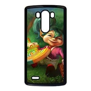 LG G3 Cell Phone Case Black League of Legends Lollipoppy Gyul