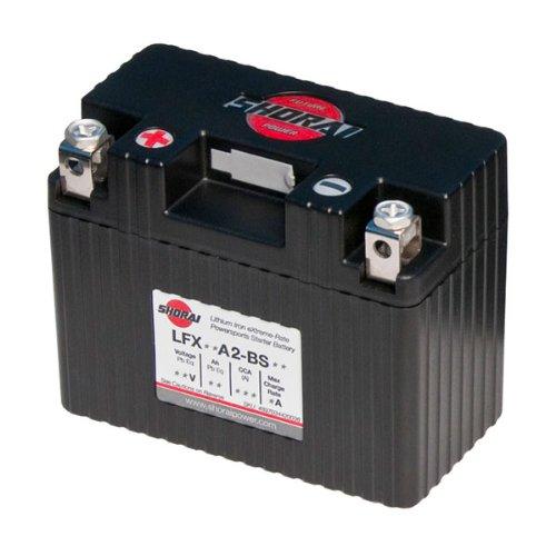 Shorai Xtreme-Rate LifePO4 LFX Standard Battery LFX18A2-BS06 ()