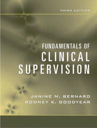 Fundamentals of Clinical Supervision - 3rd edition