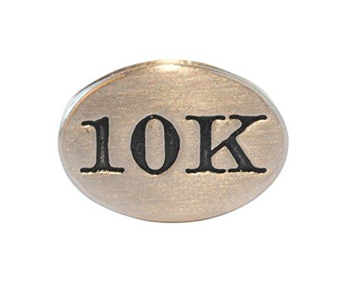 10k Race Charm - 10k Race Stainless Steel Runner Shoelace Charm-Perfect Runner Gift