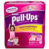 Health & Personal Care : Huggies Pull-Ups Training Pants, Girls, 4T-5T, 33-Count