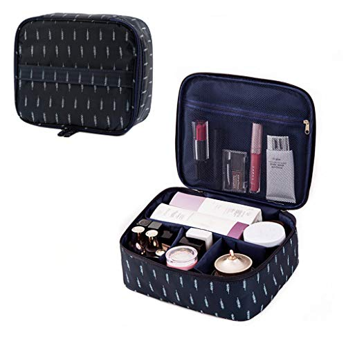 LYDZTION Portable Cosmetic Bag Large Capacity Lazy Travel Makeup Pouch Magic Toiletry Bag for Womens Girls