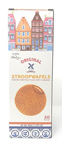 Original Stroopwafels- Toasted Waffles filled with (Original Waffle)