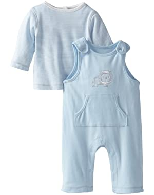 Baby-Boys Lion Overall Set
