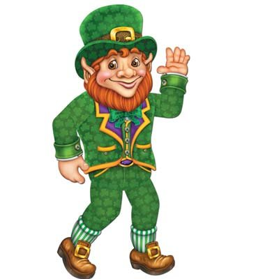 Jointed Leprechaun Party Accessory (1 count) (1/Pkg)]()