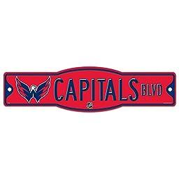 NHL Washington Capitals 27874010 Street/Zone Sign, 4.5\