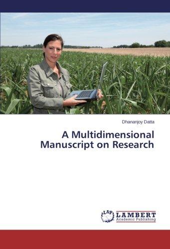 Download A Multidimensional Manuscript on Research ebook