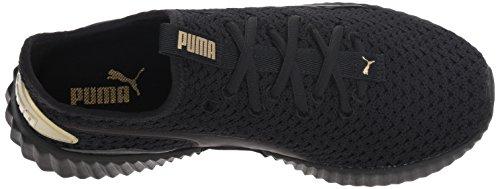 Pour Puma Femmes Defy metallic Gold Black Femme aqB05