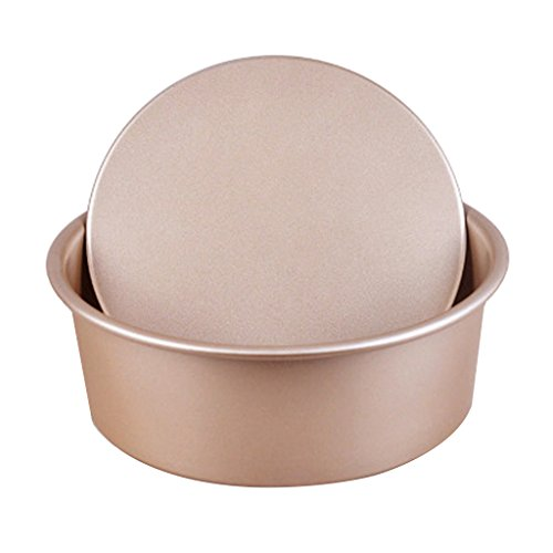 - Baoblaze 6'' 8'' 10'' Round Cake Chocolate Pizza Mold Baking Pan w/Removable Bottom - Gold, 10inches