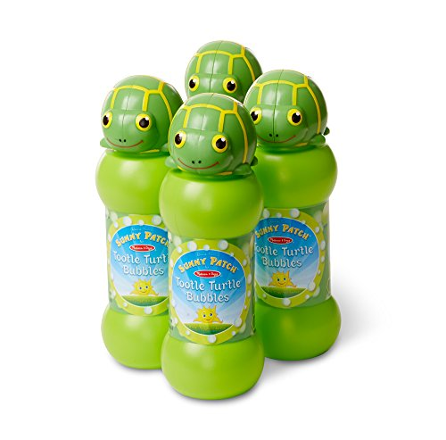 Melissa & Doug Tootle Turtle Bubble 4 Pack Novelty