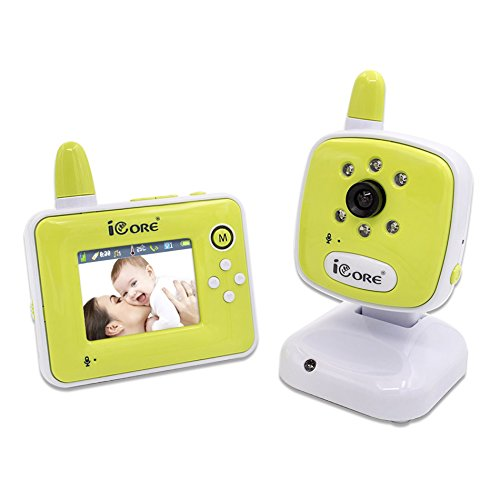 I-See BM0903 Baby Infant Monitor 24 Inch Night Wireless Security Camera US Model IDS Home